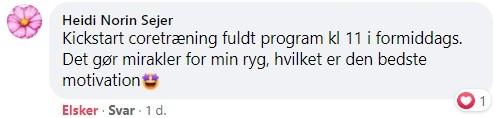 Heidi fortæller: