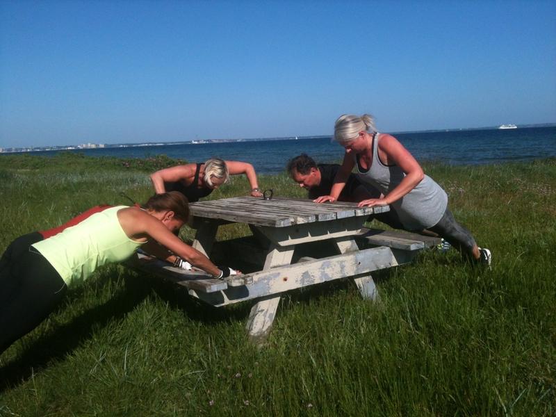 Outdoor fitness flex