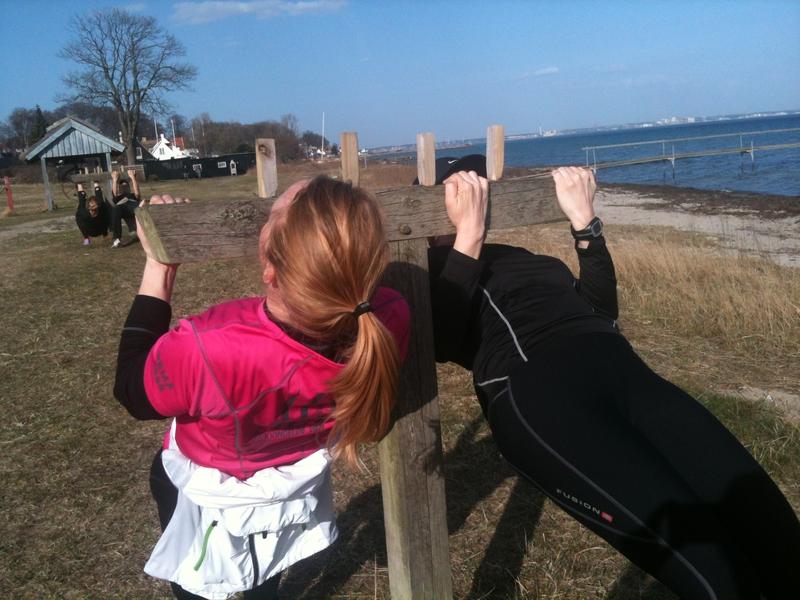 Outdoor fitness i Skotterup