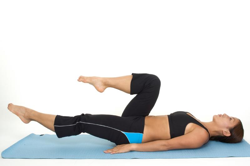 Fysioterapeut Pernille Springer underviser i core træning