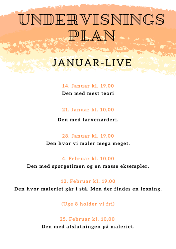undervisningsplan januar LIVE