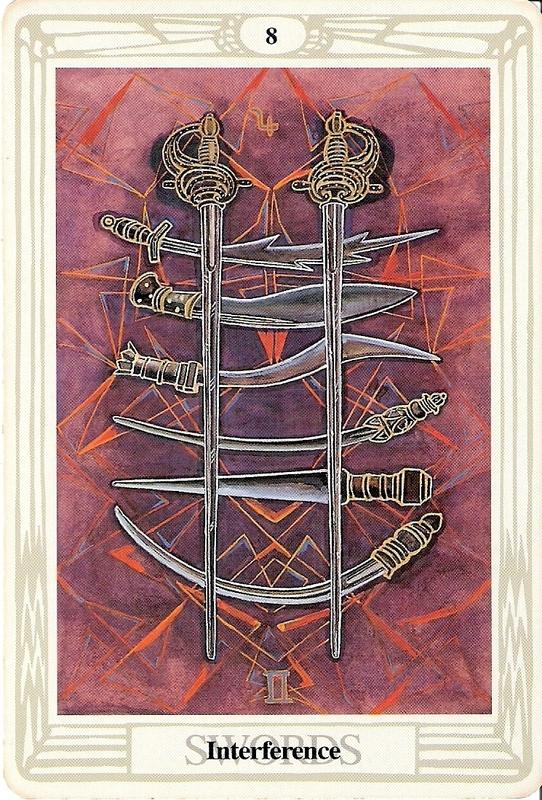 8 Sværd - Indblanding
